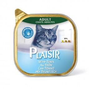 پلازیر ووم گربه حاوی تن 100 گرم