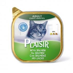 پلازیر ووم گربه حاوی ماهی سالمون 100 گرم