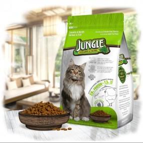 جانگل غذا خشک گربه مرغ و ماهی 1.5 کیلوگرم