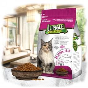 جانگل غذا خشک گربه عقیم شده با طعم سالمون  1.5 کیلوگرم