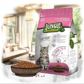 جانگل غذا خشک بچه گربه طعم مرغ 1.5 کیلوگرم