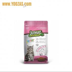 جانگل غذا خشک بچه گربه طعم مرغ 500 گرم