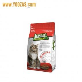جانگل غذا خشک گربه با طعم گوشت بره  500 گرم