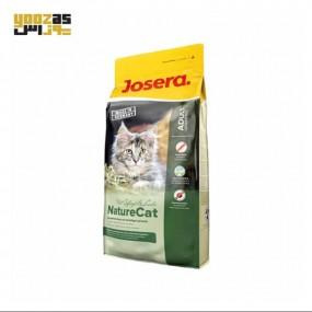 غذای خشک نیچرکت جوسرا حاوی گوشت پرندگان فاقدغلات مخصوص گربه بالغ و بچه گربه های بالای شش ماه