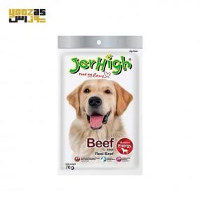 تشویقی سگ جرهای با طعم گوشت گاو