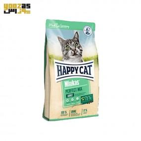 غذای خشک گربه هپی کت مدل مینکاس میکس