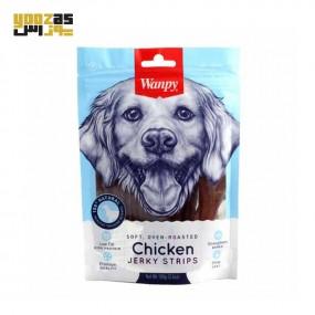غذای تشویقی سگ ونپی مدل Chicken Jerky Bars وزن 100 گرمی