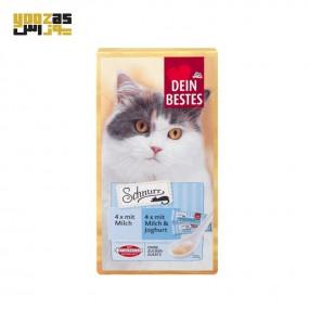 بستنی گربه دین بستس با طعم شیر و ماست در بسته بندی 8 عددی