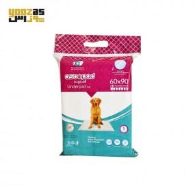 آسو پد بهداشتی حیوانات 5 عددی 60 در 90 سانتی متر