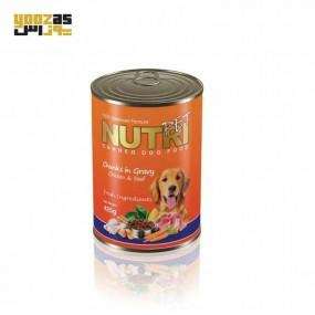 نوتری کنسرو سگ چانگ مرغ و بیف 425 گرم