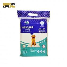 آسو پد بهداشتی حیوانات 5 عددی 60در60 سانتی متر