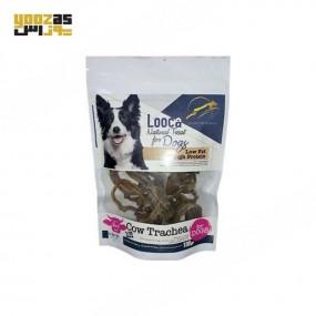 تشویقی لوکا با طعم نای گاو مخصوص سگ