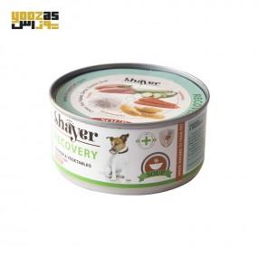 کنسرو ریکاوری شایر سگ مرغ و سبزیجات 200 گرم