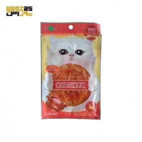 تشویقی گربه با طعم مرغ 30 گرمی