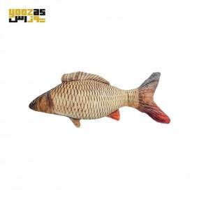 عروسک پولیشی کت نیپ دار ماهی کارپ طلایی