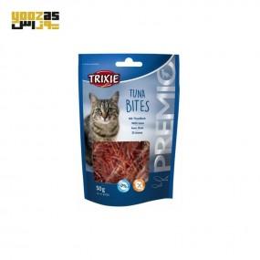 تشویقی تریکسی گربه تکه های ماهی تون tuna bites