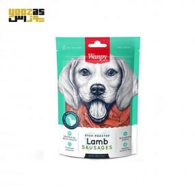 تشویقی ونپی سگ مدل سوسیس بره 100گرم